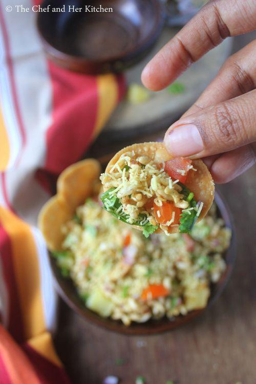 mumbai style bhel puri