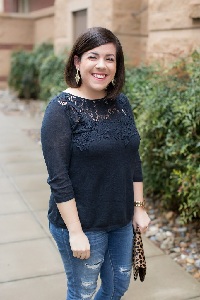 Navy Lace Top-@headtotoechic-Head to Toe ChicView More: http://em-grey.pass.us/angela-march-18th-2017-em-grey-photography-raleigh-nc