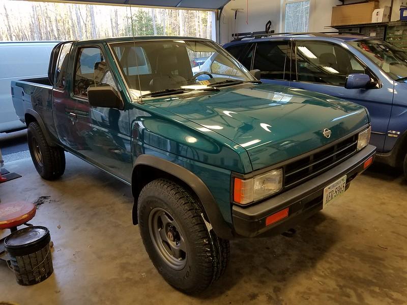 VWVortex com - Mint 95 Nissan hardbody 4x4 with 66k original miles