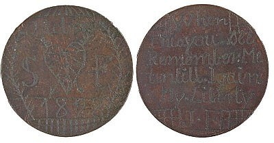 1828 Convict Love Token