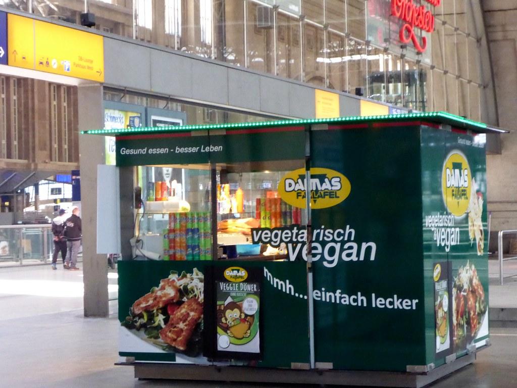 im Leipziger Hauptbahnhof