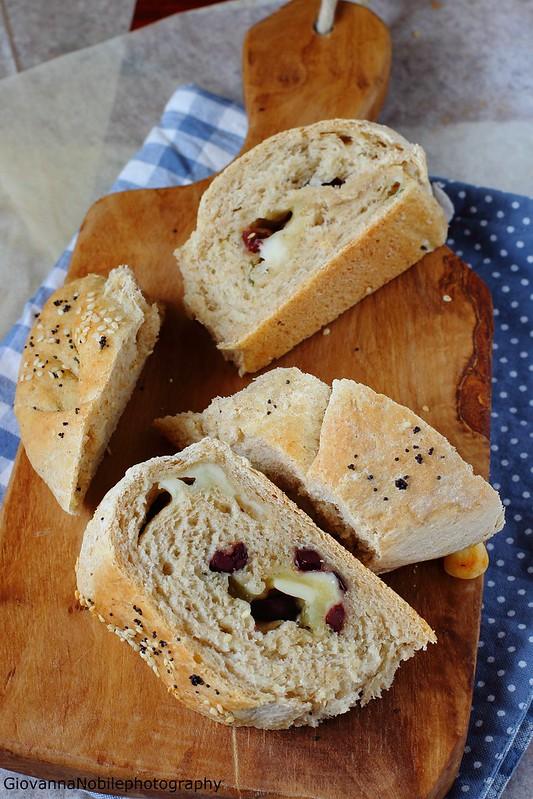 Ricetta della chiocciola con formaggi e olive greche