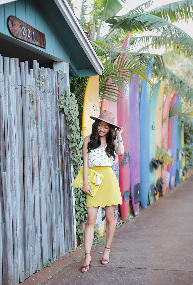 cute spring summer vacation break outfit petite