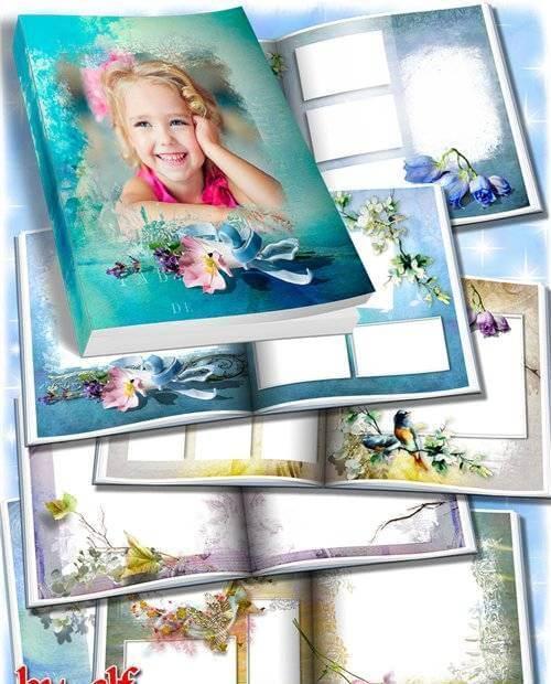 Весенний фотоальбом