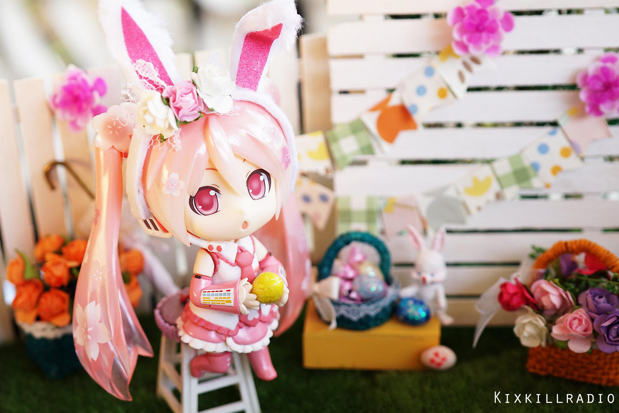 Easter Bunny Miku
