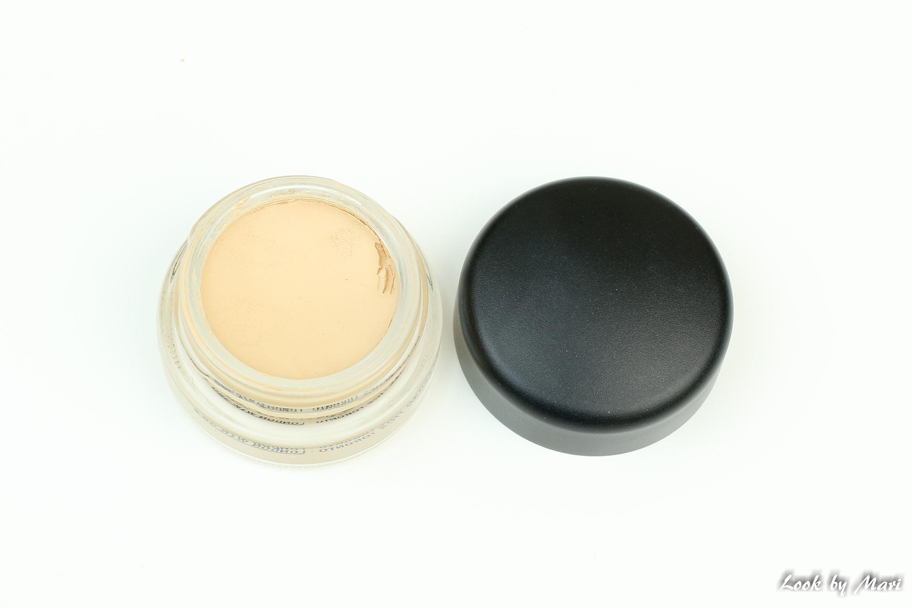 12 Mac pro long wear paint pot sävy soft ochre kokemuksia väri suomi kuinka käyttää pohjustus