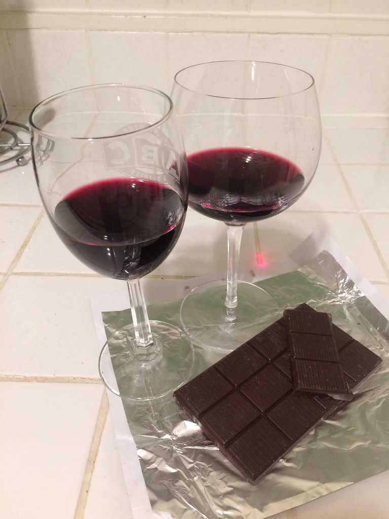 Runquist Petite Sirah and Choceur Super Berries Chocolate 2