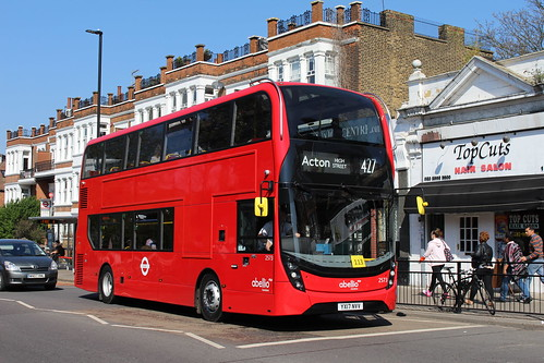 Abellio London 2573 on Route 427, Ealing Common Station