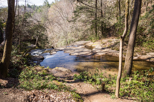 Top of Laurel Fork Falls