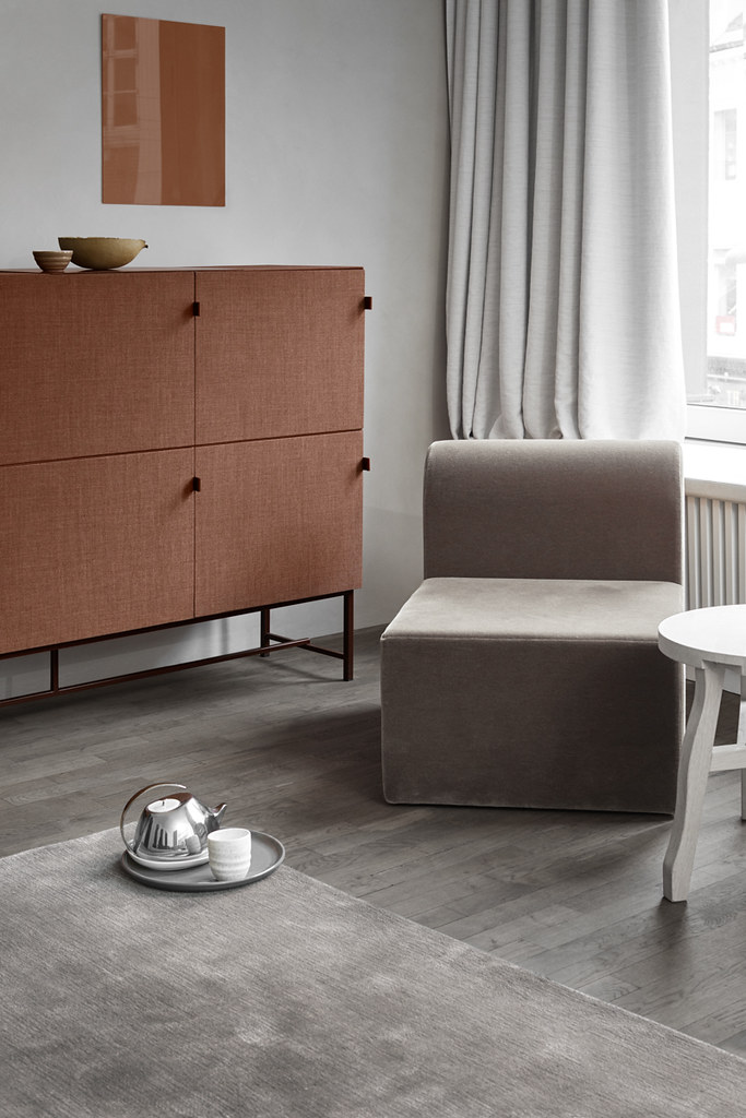 Sound-absorbing modern storage cabinet by Norm Architects for Zilenzio Sundeno_09