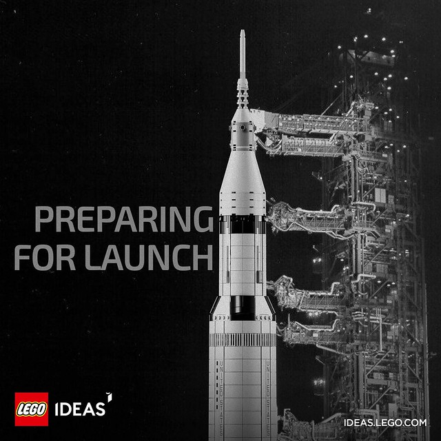 LEGO Ideas Saturn V
