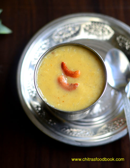 Arisi paruppu payasam recipe