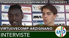 Virtus V.-Arzignano del 13-04-17
