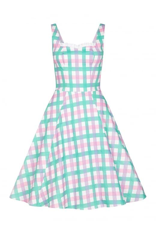 collectif plaid dress