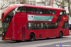 Wrightbus NRM NBFL - LTZ 1063 - LT63 - Liverpool Street 11 - Go Ahead London - London 2017 - Steven Gray - IMG_8250