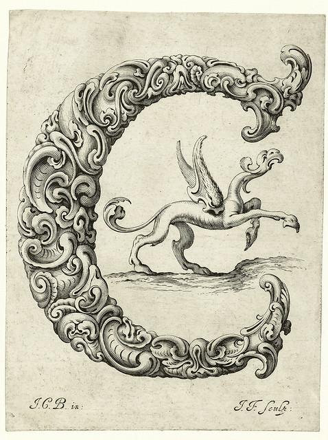 004-Letra C-Libellus Novus Elementorum Latinorum -J. C. Bierpfaff-  Rijksmuseum