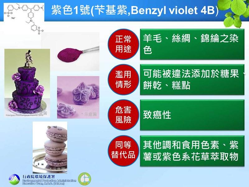 07 紫色1號(芐基紫,Benzyl violet 4B)