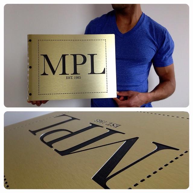 Custom Fashion Design Portfolio Book With Engraving