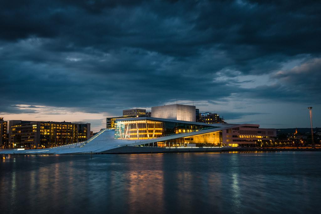 Oslo Opera House The Oslo Opera House Is The Home Of The