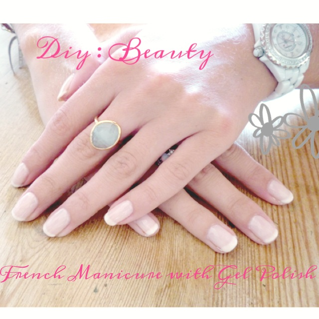 DIY Nail Tutorial : Gel French Manicure At Home | Flickr - Photo