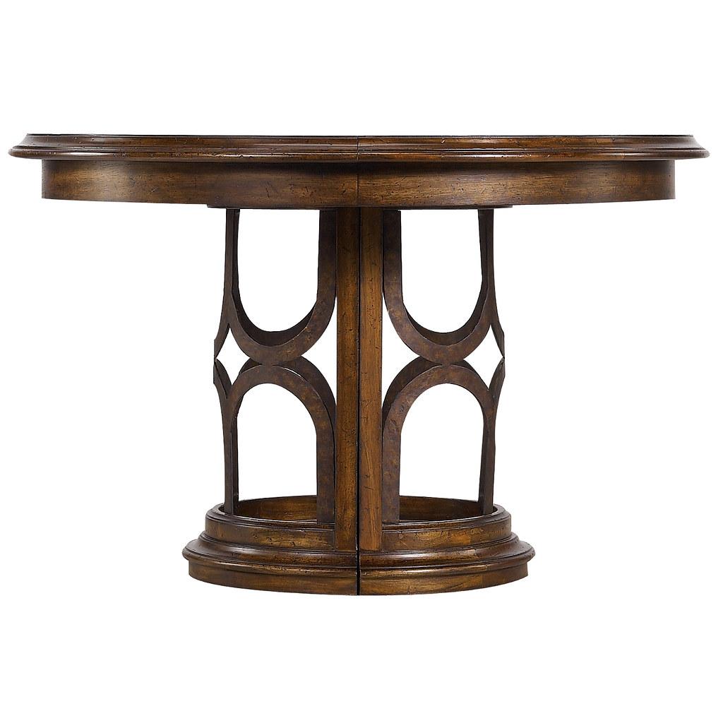 Archipelago Monserrat Round Pedestal Table Archipelago