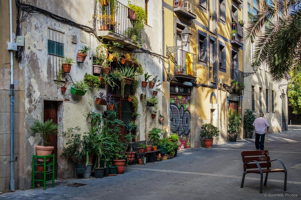 Acaparando una vista en conjunto de la casa de las for Hoteles en el born de barcelona