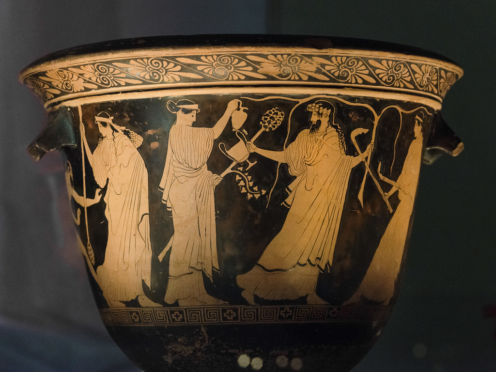 Dionysian Thiasos Mykonos P Krater Bell With