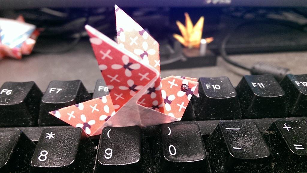Origami For Dave Pigeon Origami Instructionsoriga Flickr