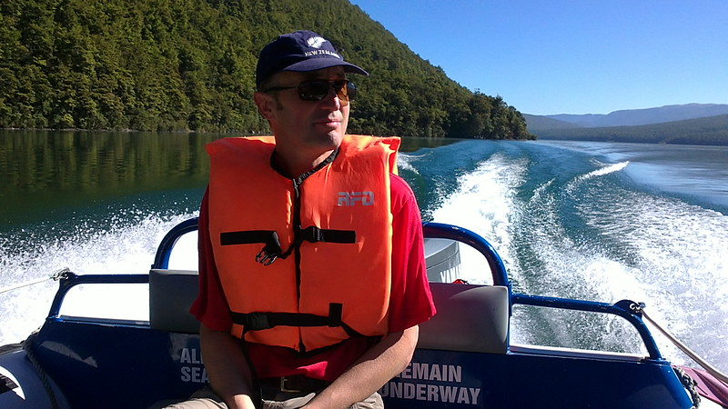 water taxi service on lake rotoiti in the nelson lakes national park
