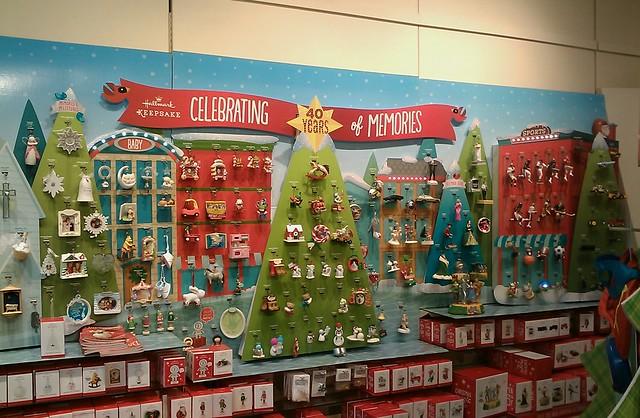 Hallmark Store Christmas Ornament Display Flickr