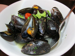Mussels at Texas French Bread | by mmcheng