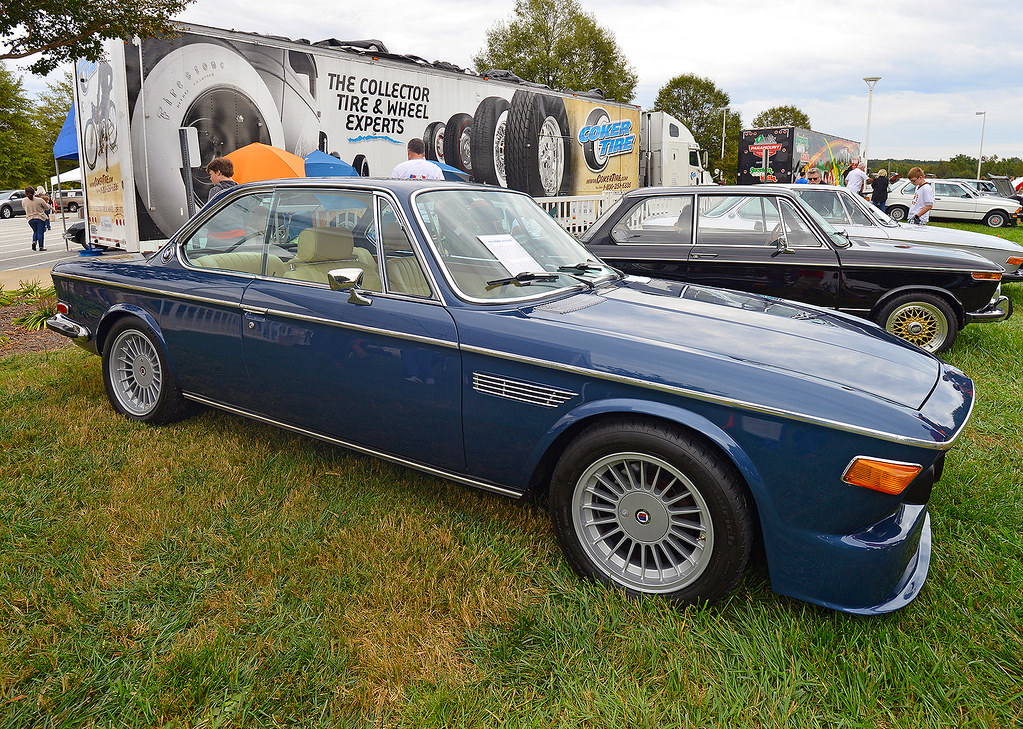 1971 Bmw 3 0 Cs At The 2013 Euro Auto Fest Greer South C Flickr