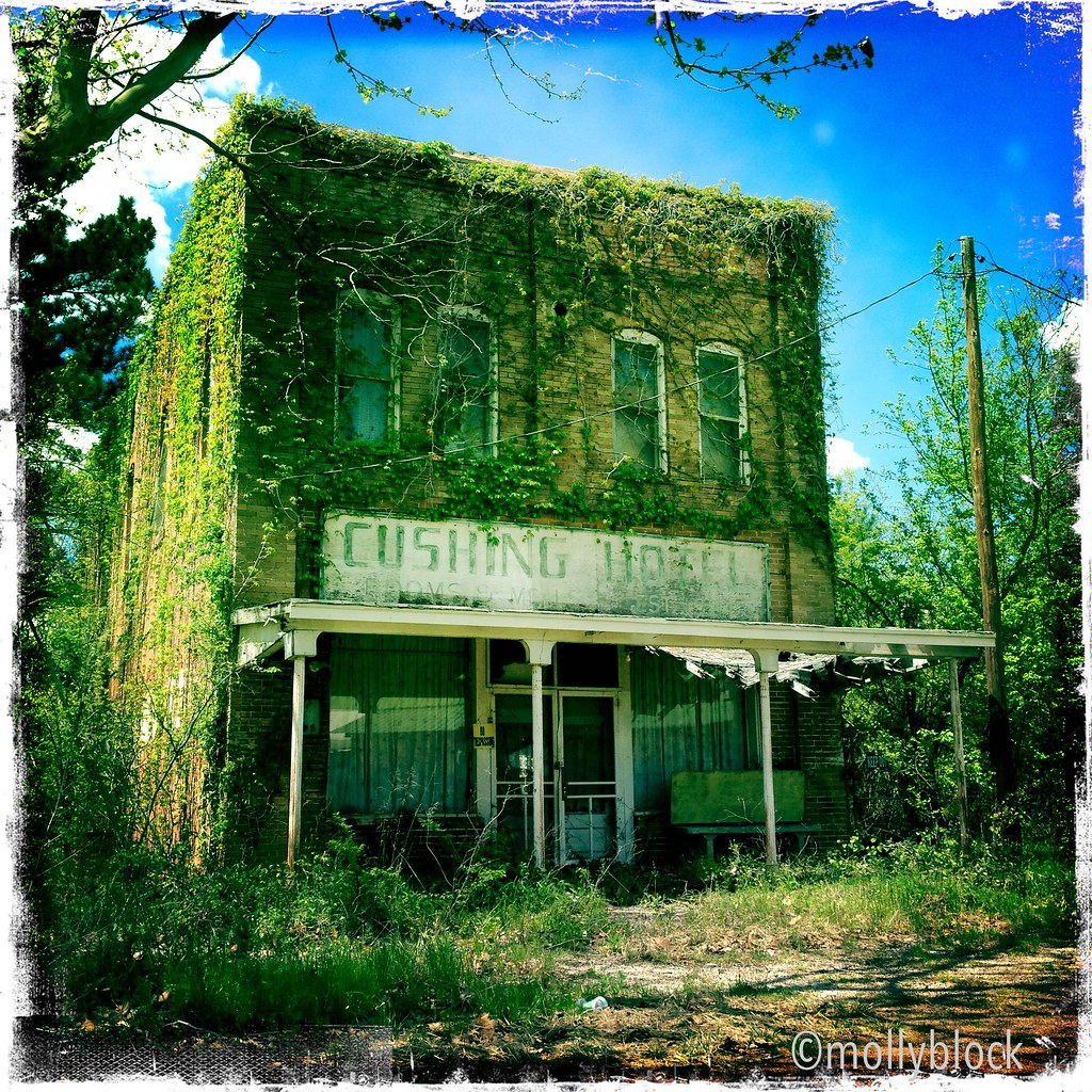 Abandoned Places Of Texas: Abandoned In Maydelle, Texas