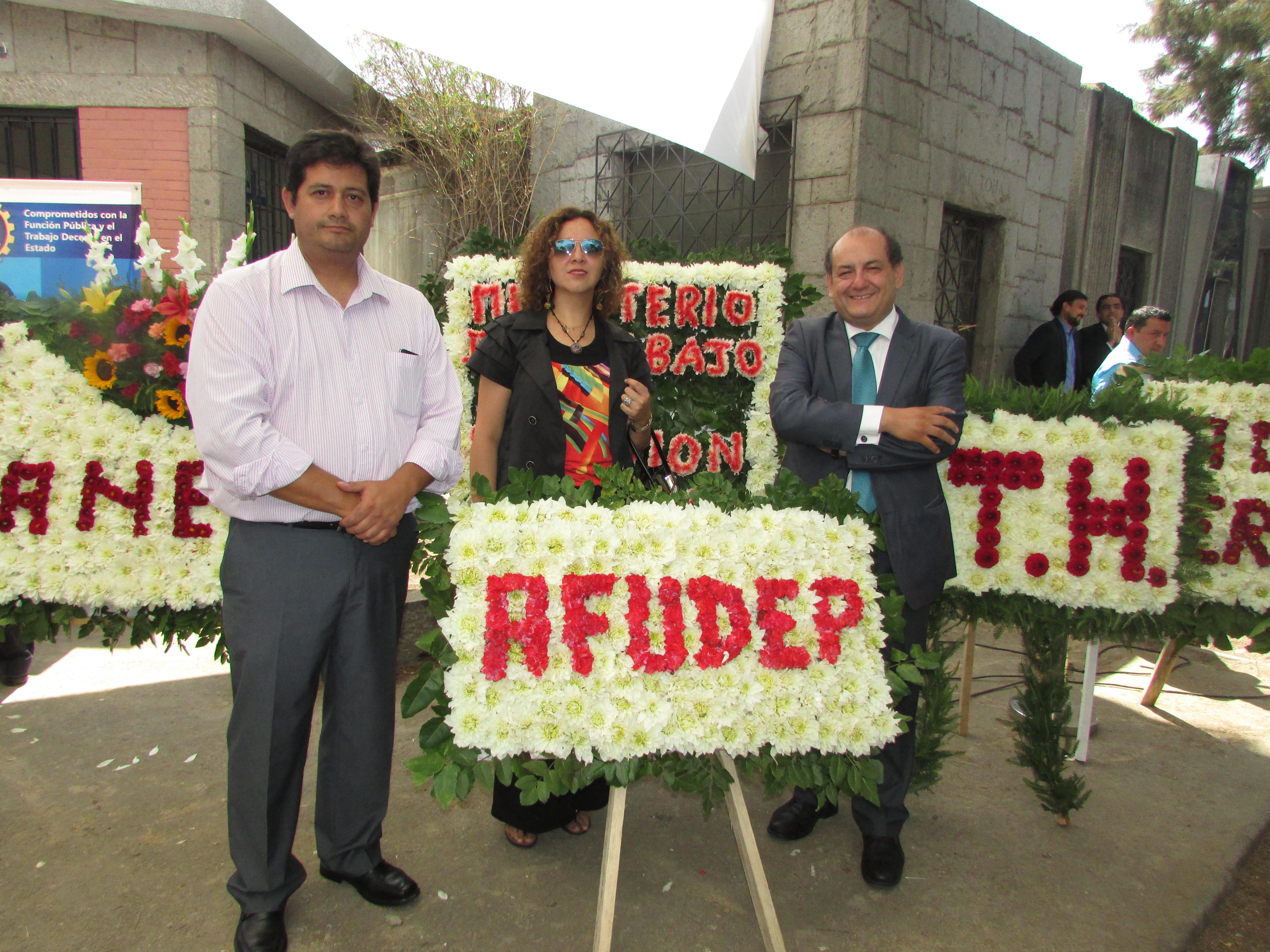 AFUDEP presente en 35° Conmemoración de dirigente Tucapel Jiménez - 27 Febrero 2017