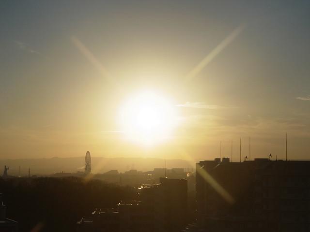 Sunrise (GXR Mount A12 + Jupiter-3 50mm F1.5)