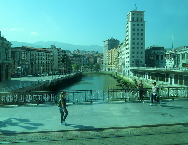 View from Bilbao Bridge