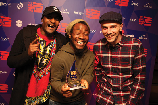RTE Choice Music Prize 2016 winners Rusangano Family