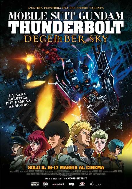 Gundam Thunderbolt Poster official