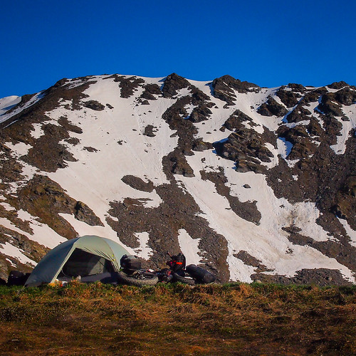 Camping on Hatcher Pass | by Wandering by Bicycle