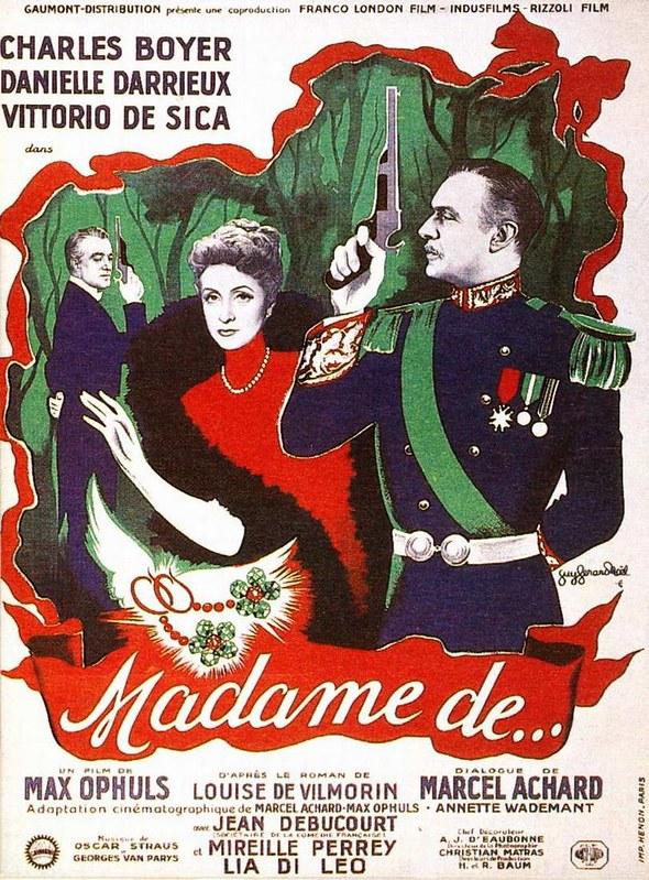 Madame De… - Poster 2