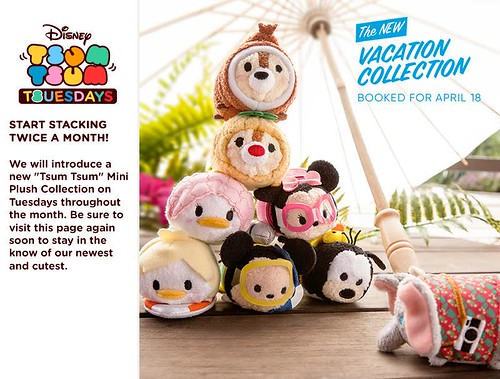 Vacation Collection Tsum Tsums
