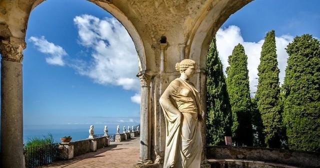 Ravello (SA) giardini di Villa Cimbrone