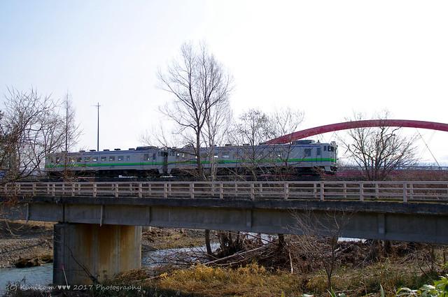 富良野線のキハ40③