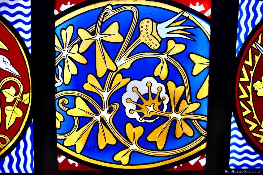 El Palau Güell y las mil y una flores