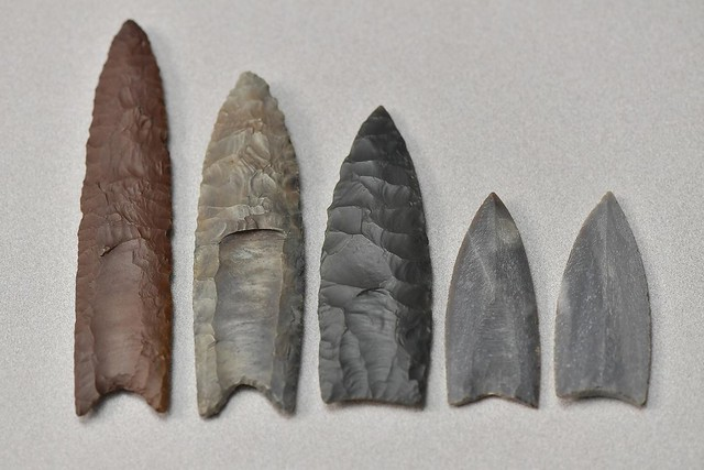 Kent State archaeologist explains innovation of 'fluting' ancient stone weaponry 33471352960_e78d7f1cf4_z