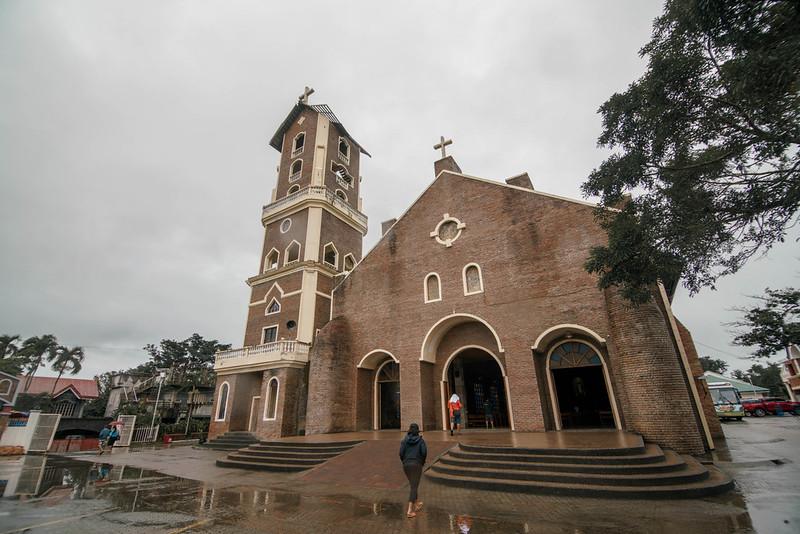 Facade of the Nuestra Señora de Piat