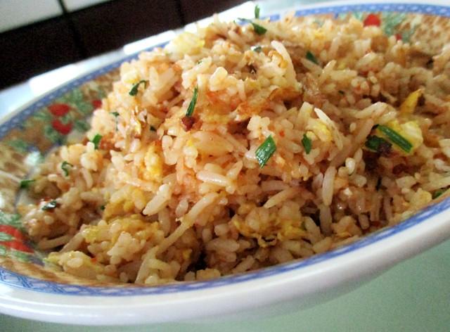 My sambal belacan fried rice