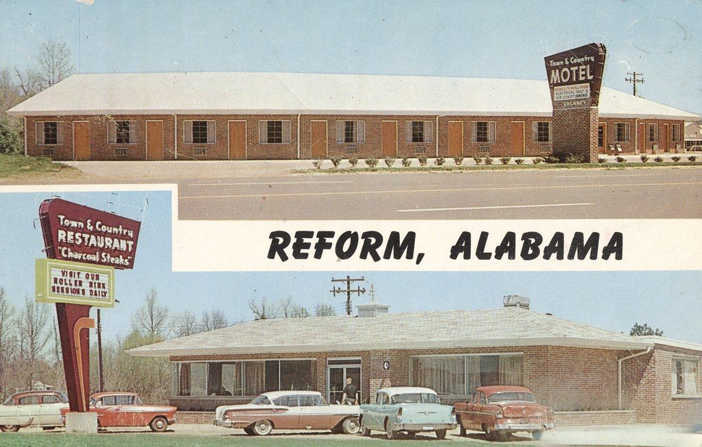 Town & Country Motel and Restaurant - Reform, Alabama