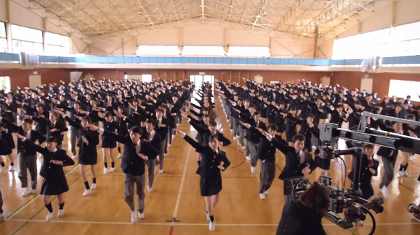 ポカリスエット新CM「踊る始業式」篇 メイキング