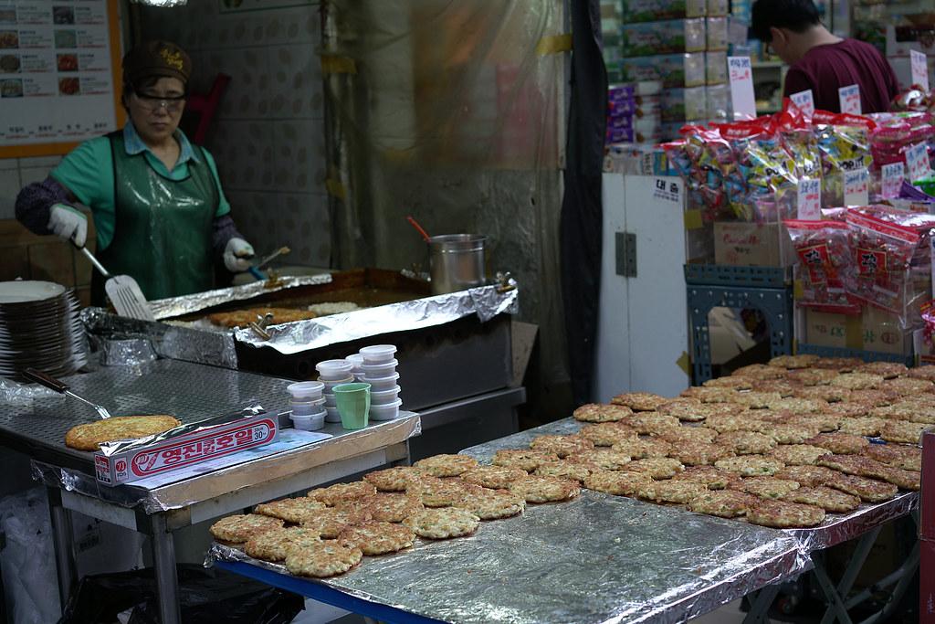 Korean Traditional Food Market